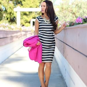 Banana Republic Tweed Stripe Dress